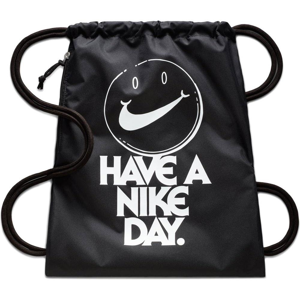 f5082c65fffa Nike Heritage GFX 1 Gymsack Black buy and offers on Goalinn