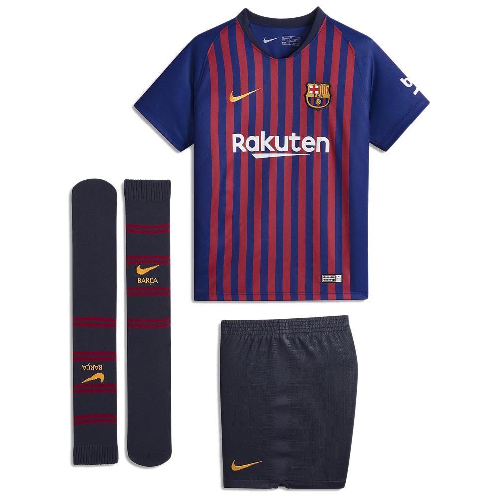 7c49fd9e50 Nike FC Barcelona Home Breathe Kit 18 19 Vermelho