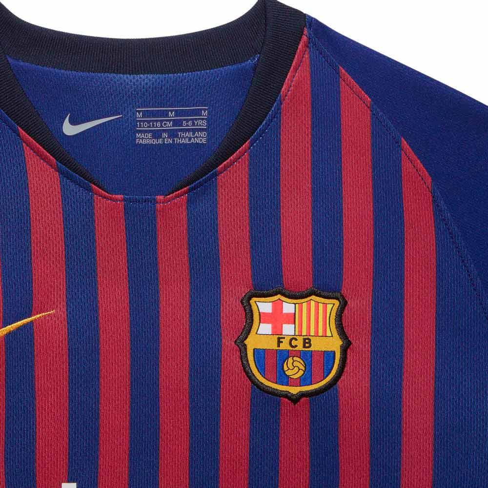 outlet store 44023 cb34d Nike FC Barcelona Home Breathe Kit 18/19 Junior