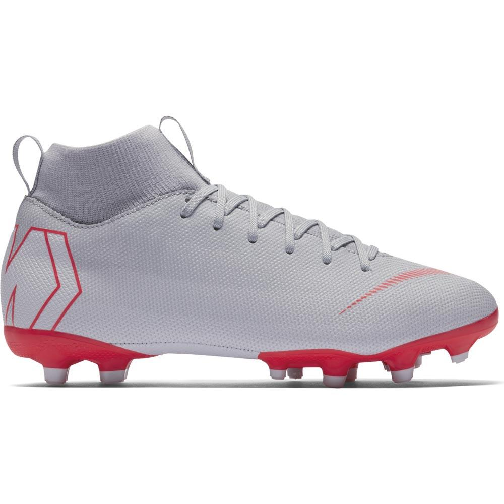 another chance 70a64 01607 Nike Jr. Superfly VI Academy MG Younger Older Kids Multi-Ground Football  Boot - Grey   AH7337-060   FOOTY.COM