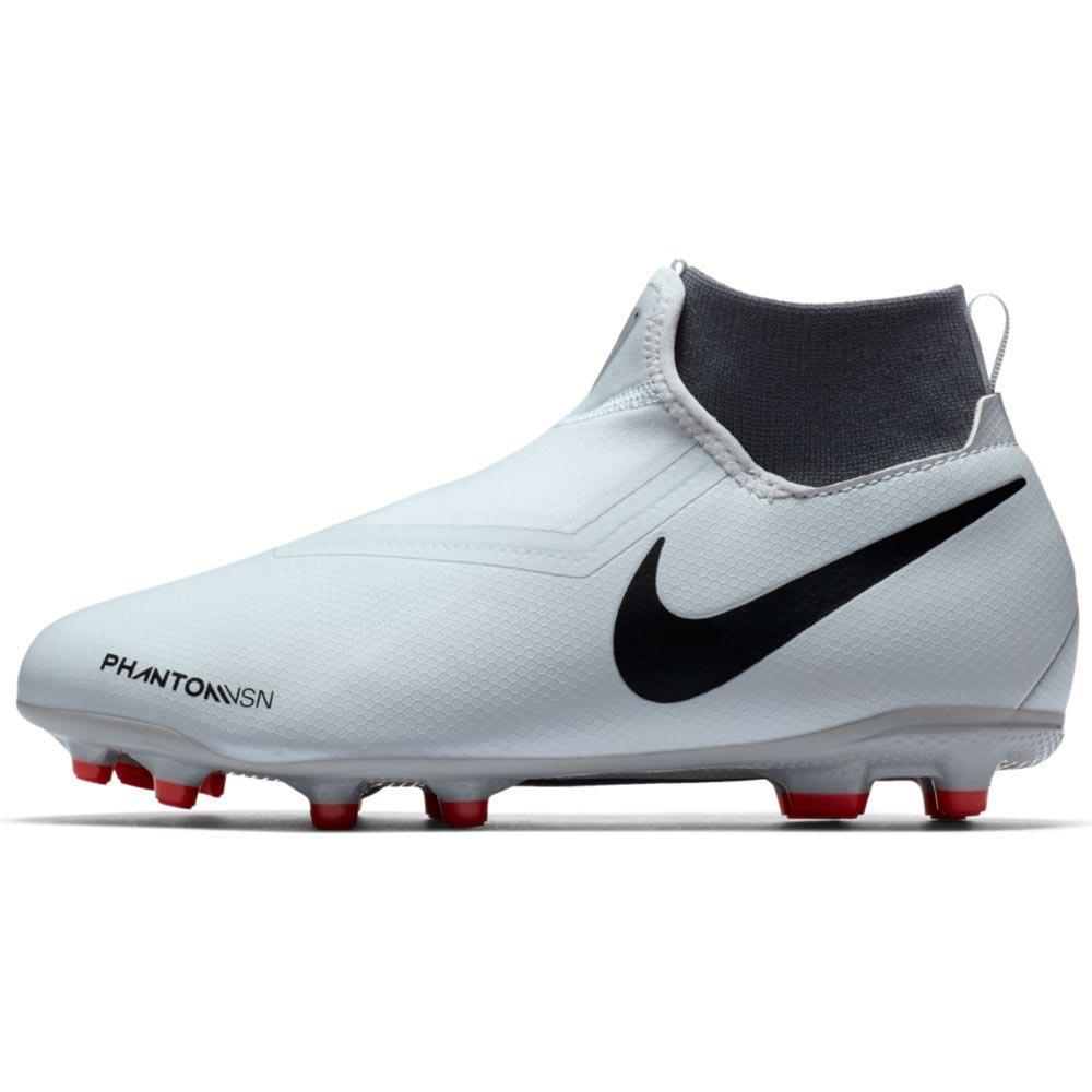 eje Inconcebible Yogur  Nike Phantom Vision Academy DF FG/MG White, Goalinn