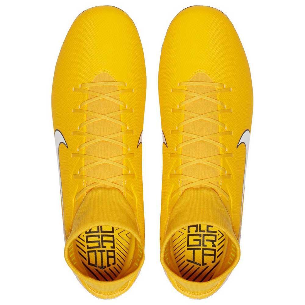 watch 1cbfb 746aa Nike Mercurial Superfly VI Academy Neymar JR MG Yellow, Goalinn