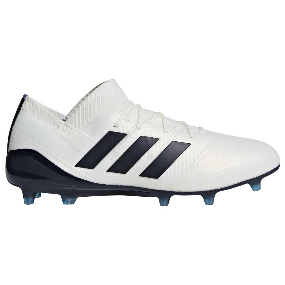fb9e989e2 adidas Nemeziz 18.1 FG W White buy and offers on Goalinn