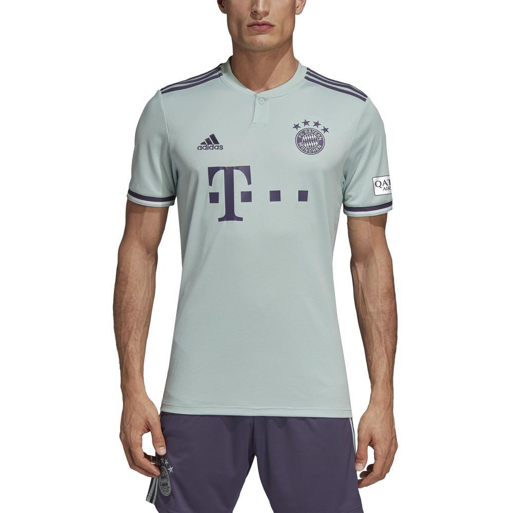 adidas FC Bayern Munich Away 18/19 T-Shirt Green, Goalinn