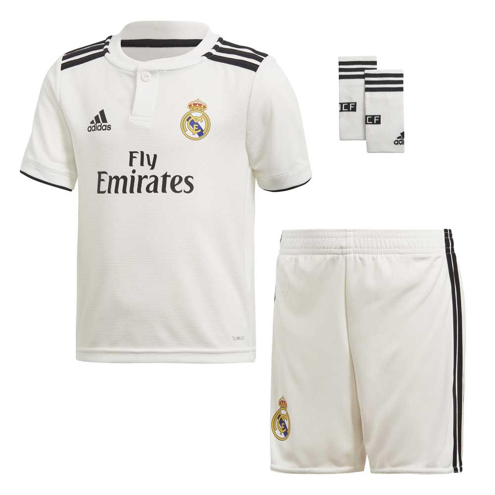0420348b0 adidas Real Madrid Home Kit 18 19 White