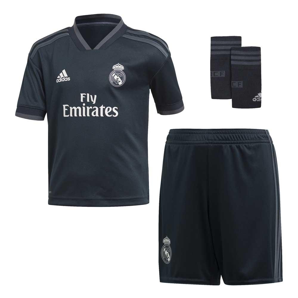 new style 8fadf 6be0e adidas Real Madrid Away Kit 18/19 Junior