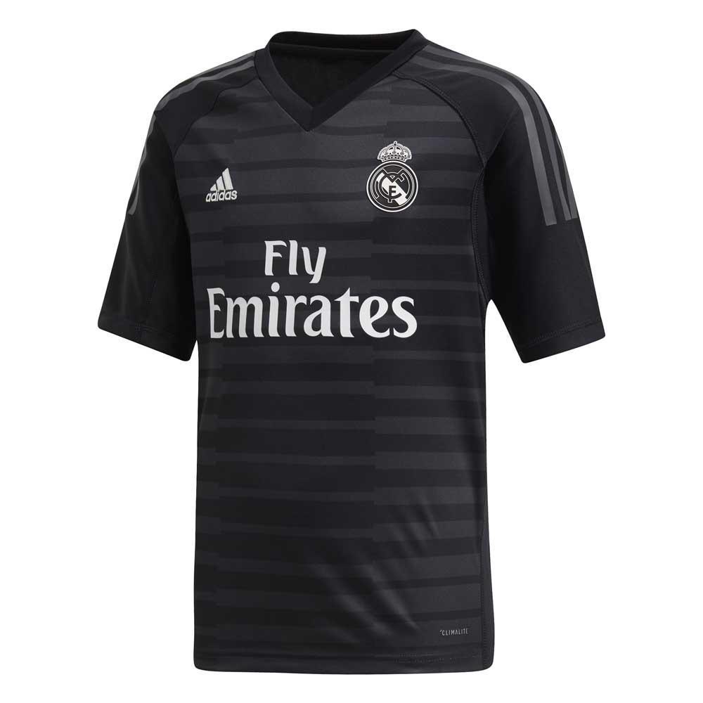 b7ec8ea51 adidas Real Madrid Home Goalkeeper 18 19 Preto