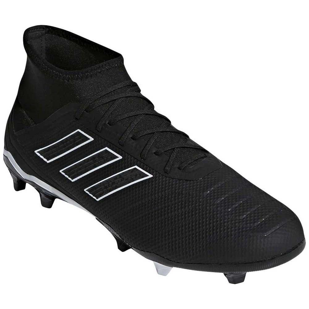afe88cd21 adidas Predator 18.2 FG Black buy and offers on Goalinn