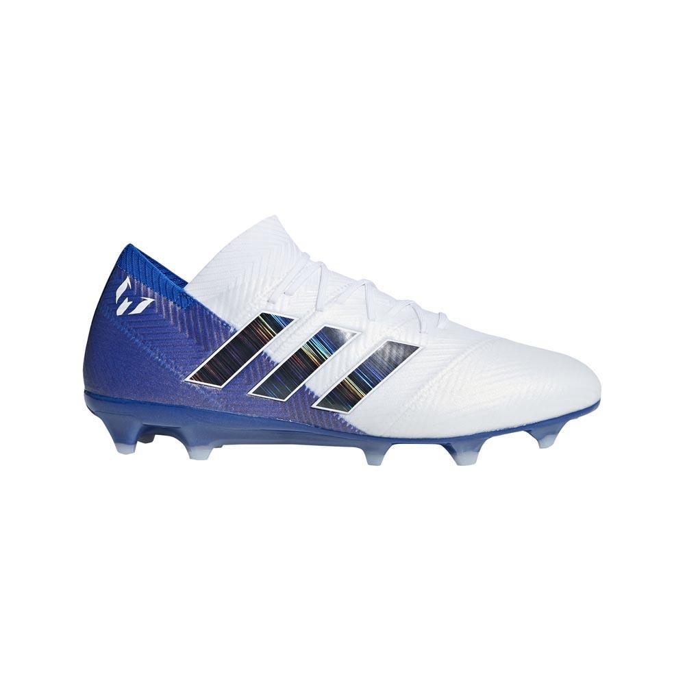 adidas Nemeziz Messi 18.1 FG White buy and offers on Goalinn