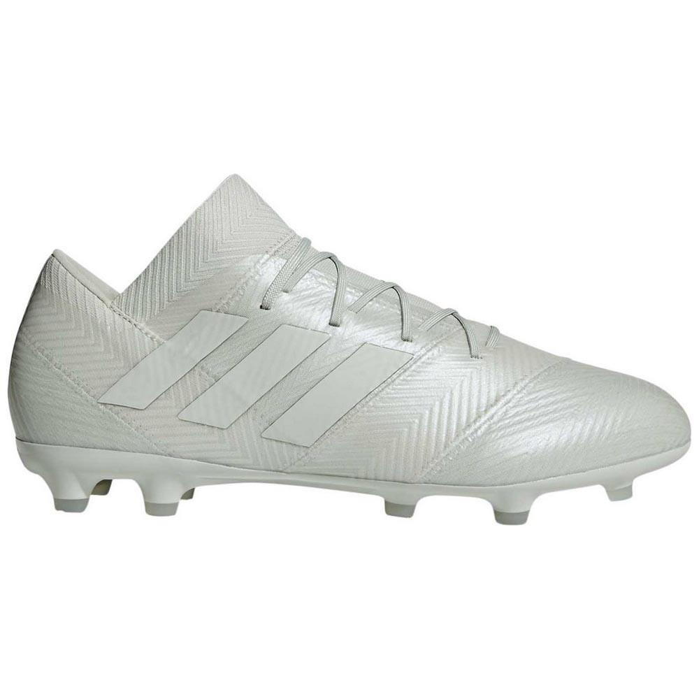 new product be0d1 994ba adidas Nemeziz 18.2 FG White buy and offers on Goalinn