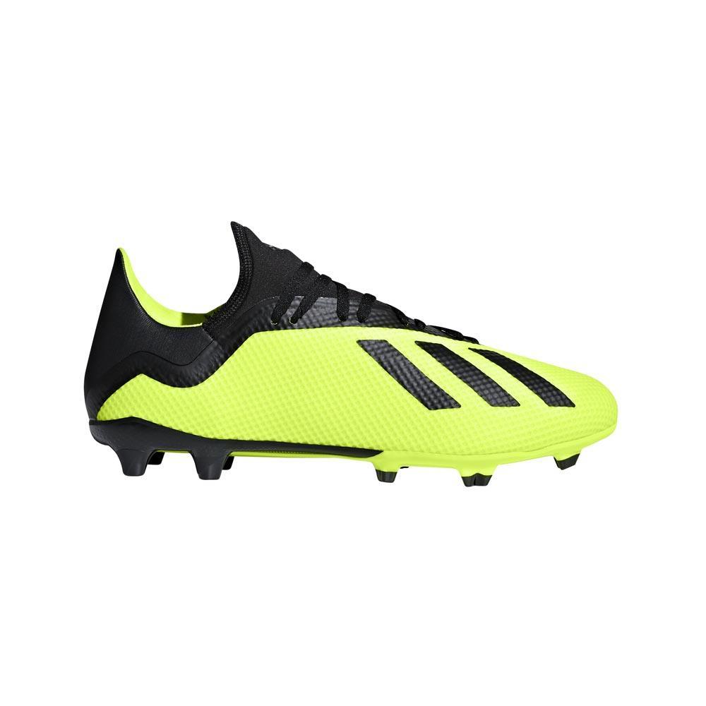 2018 Adidas X 18.3 FG Fotballsko All Svart