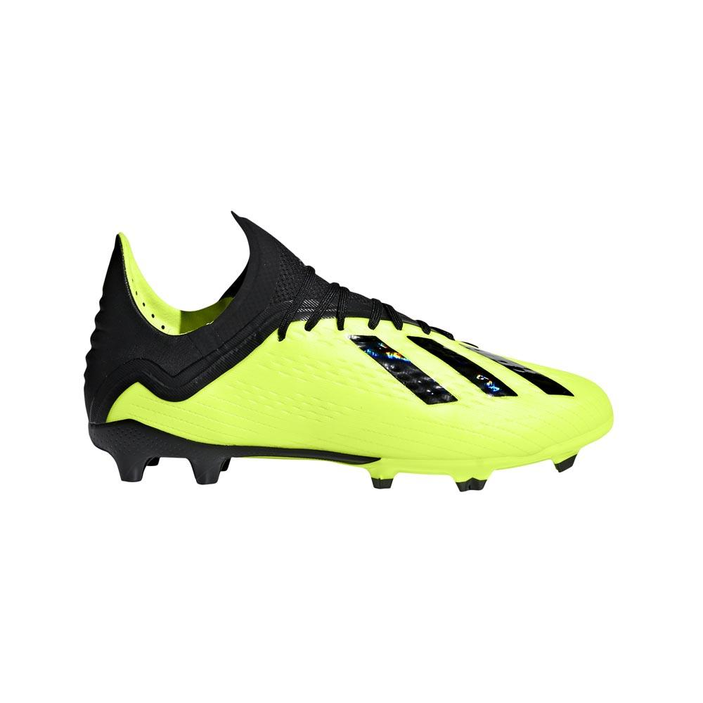 sports shoes f4dcd e995a adidas X 18.1 FG Yellow buy and offers on Goalinn