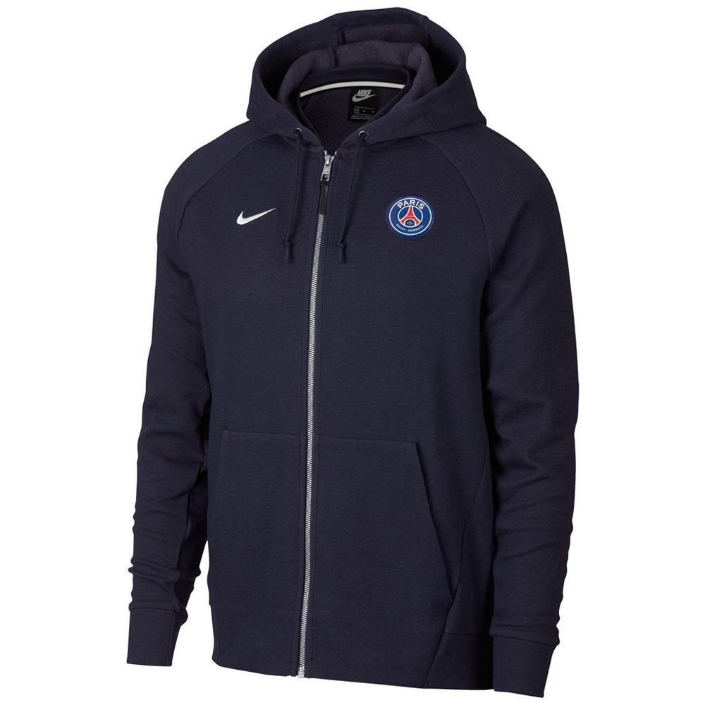 Nike Paris Saint Germain Optic Full Zip Hooded Top