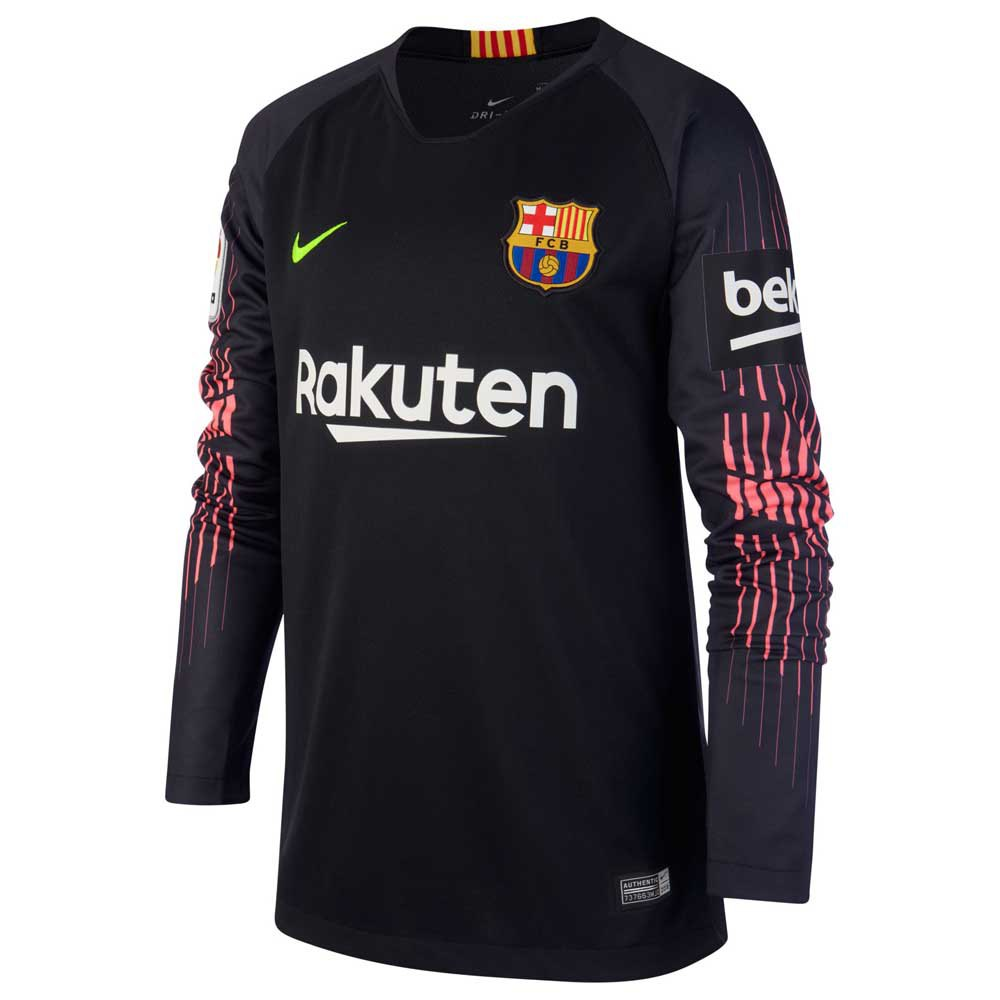 Nike FC Barcelona Breathe Stadium Goalkeeper Jersey Junior