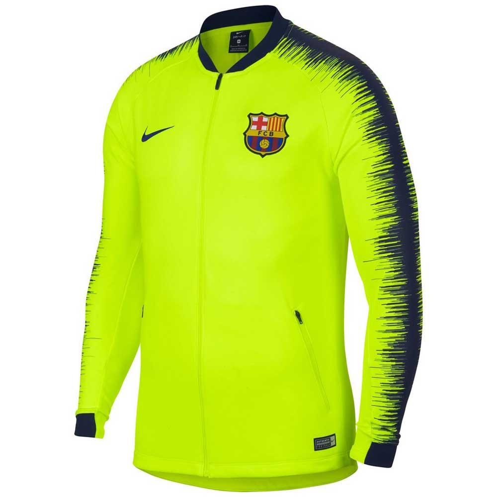 Descriptivo Aleta Deformación  Nike FC Barcelona Anthem Jacket buy and offers on Goalinn