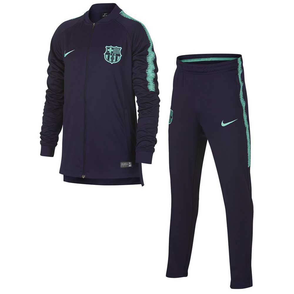 Nike FC Barcelona Dry Squad 18 19 Junior Azul 1b98b0ab0bdee