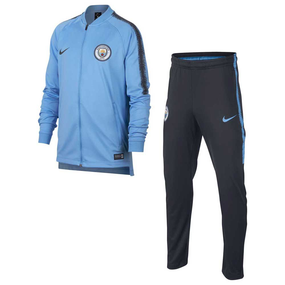 Nike Manchester City FC Dry Squad Tracksuit Junior