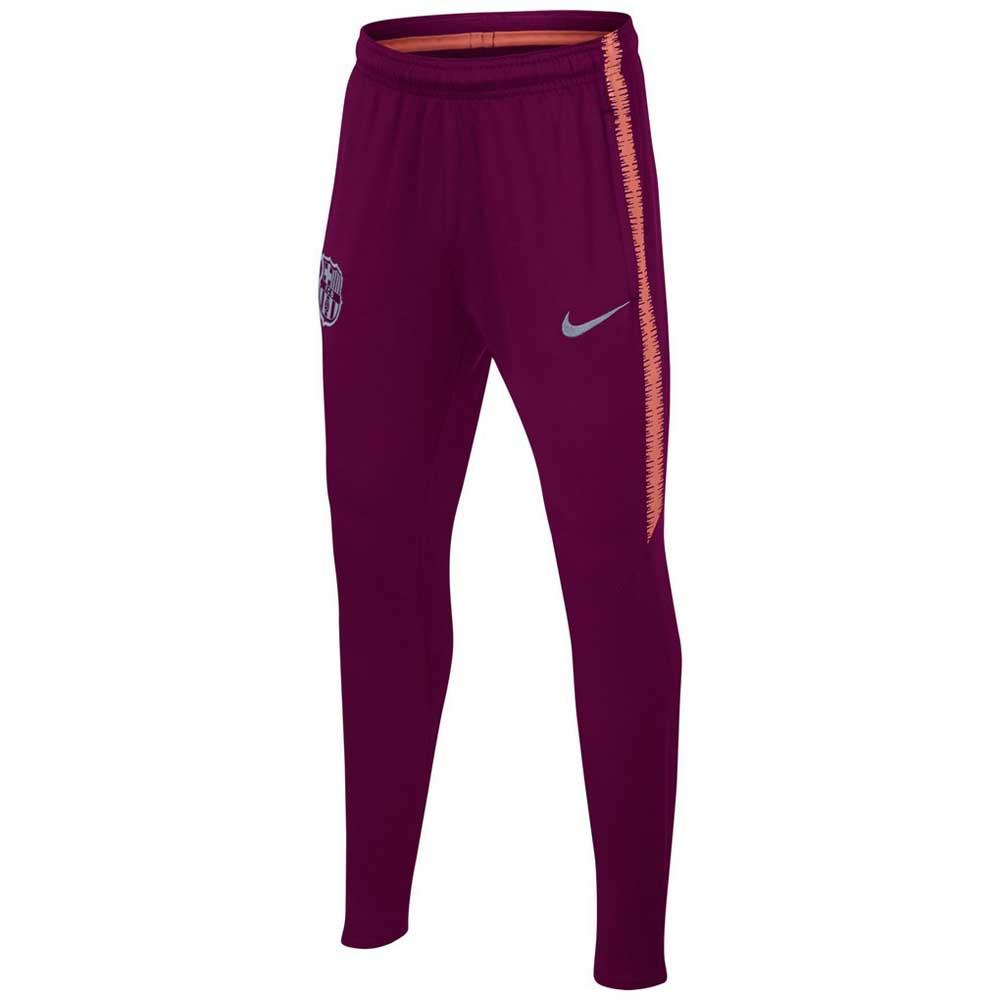 Novela de suspenso Mal funcionamiento gemelo  Nike FC Barcelona Dri Fit Squad 18/19 Junior Purple, Goalinn