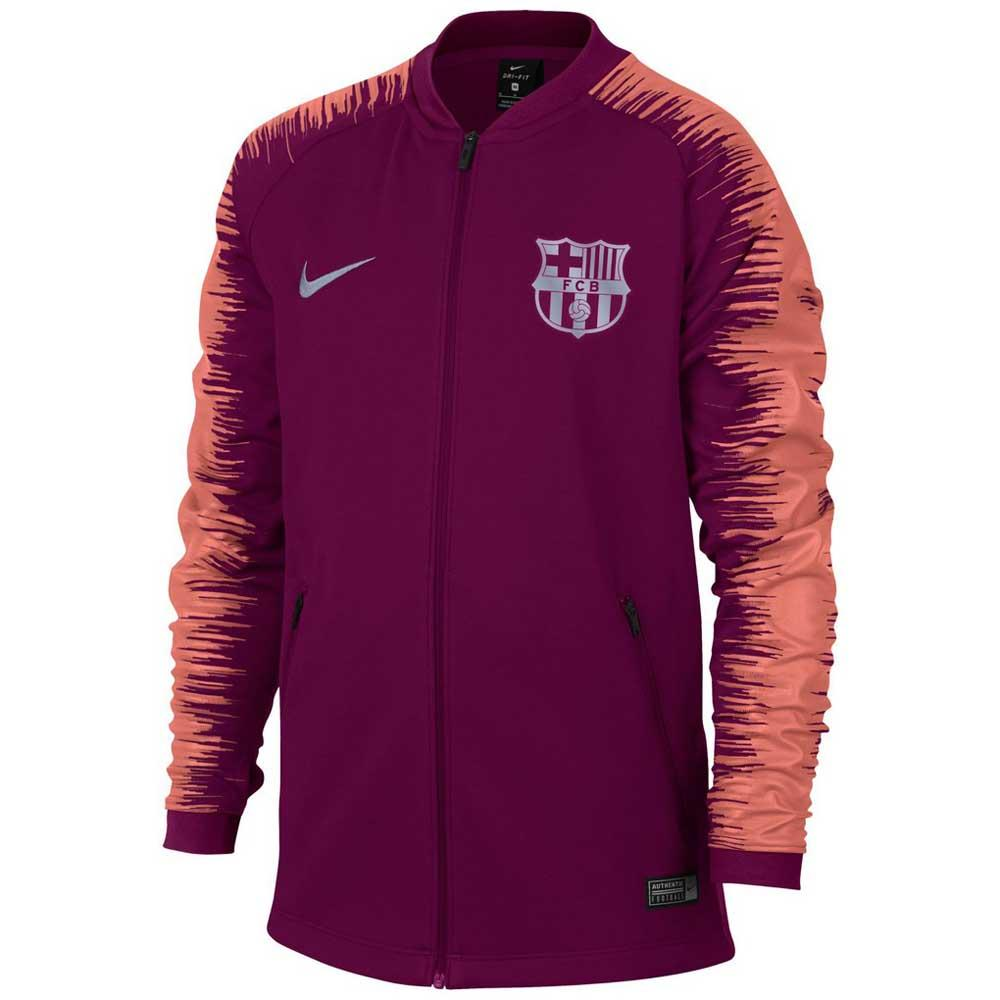 d9df6730 Nike FC Barcelona Anthem 18/19 Purple buy and offers on Goalinn