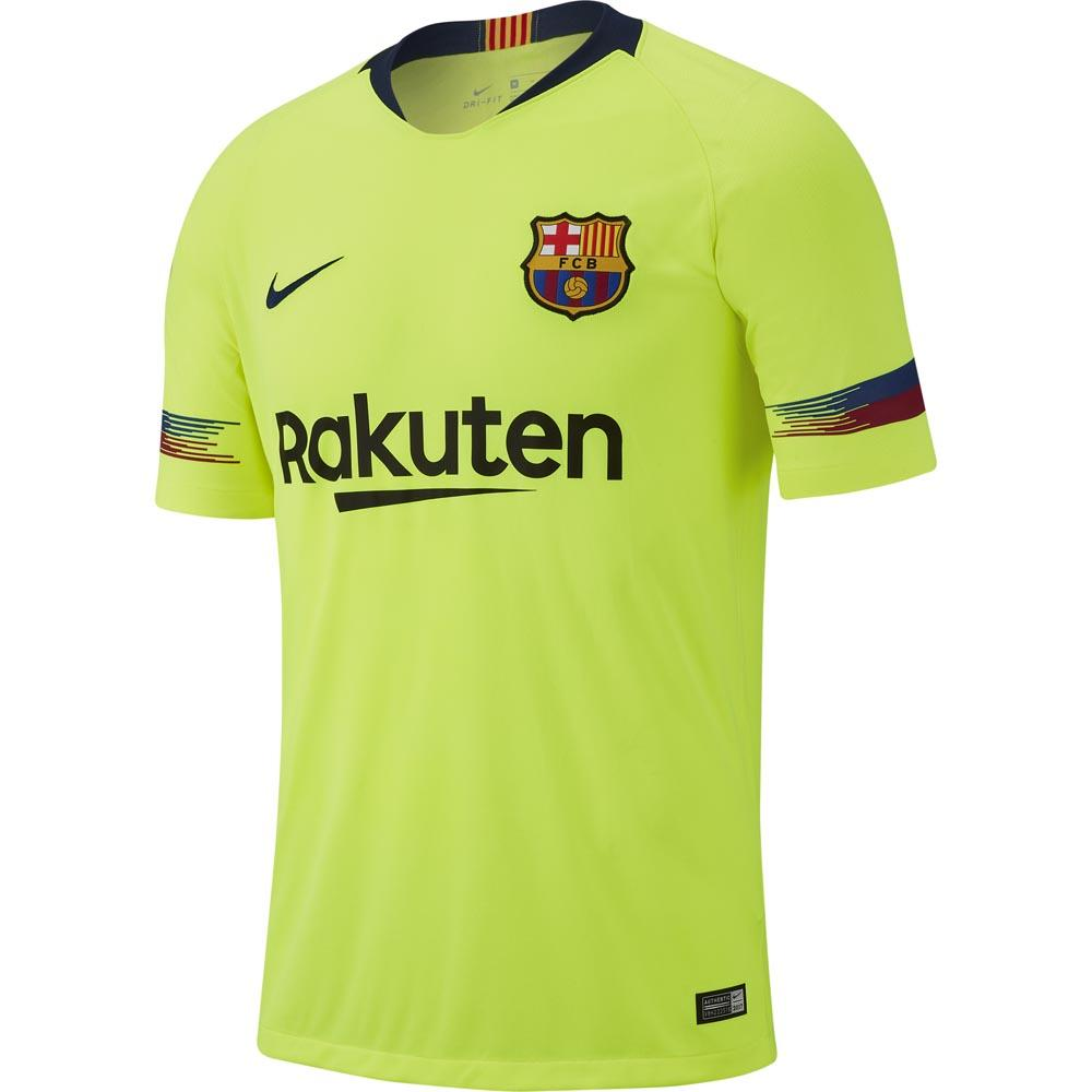 d9073f420d3 Nike FC Barcelona Away Breathe Stadium 18 19 Yellow
