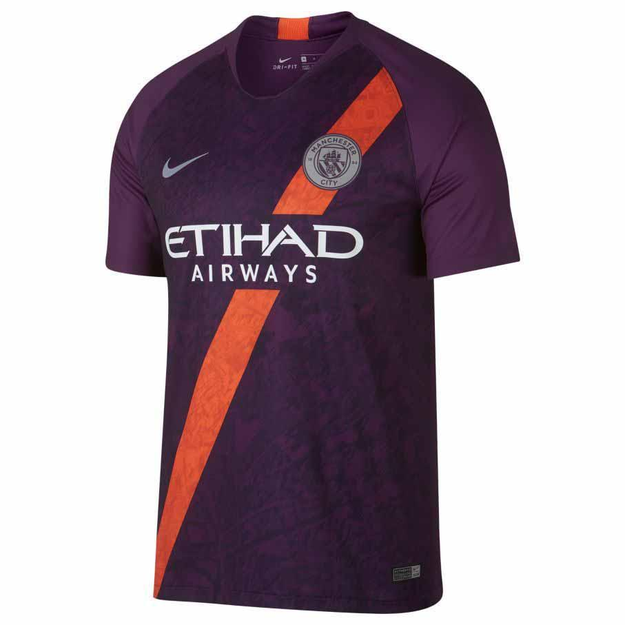 Nike Manchester City FC 3rd Breathe Stadium 18/19