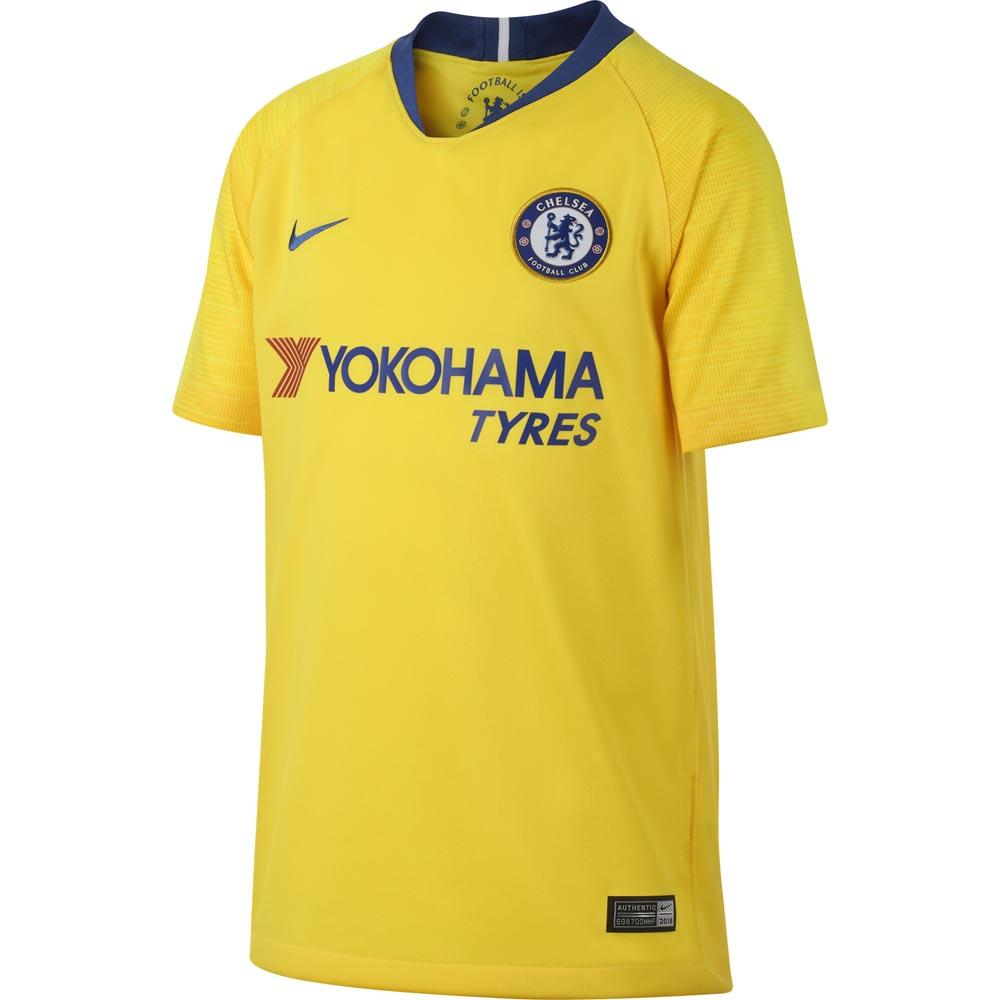 154bda17 Nike Chelsea FC Away Breathe Stadium 18/19 Junior Yellow, Goalinn