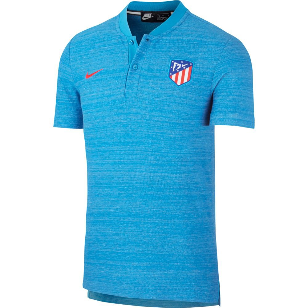 Nike Atletico Madrid Authentic Franchise Pique Polo