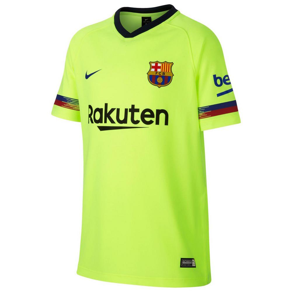 Nike FC Barcelona Away Breathe Top Junior