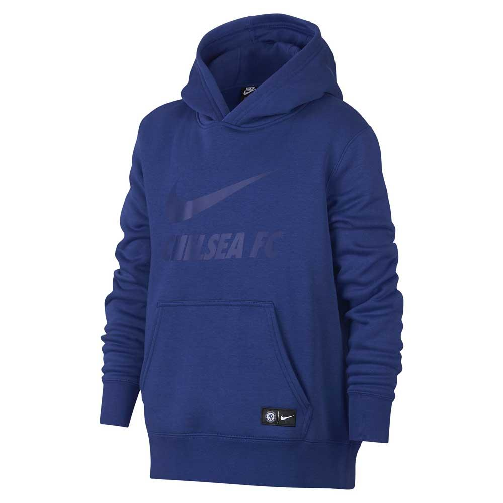 Nike Chelsea FC Crew Hooded Pullover Junior