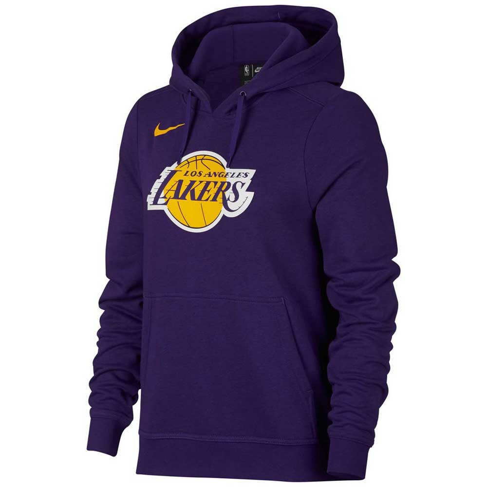 Nike Los Angeles Lakers Logo Essential Hooded Pullover Woman