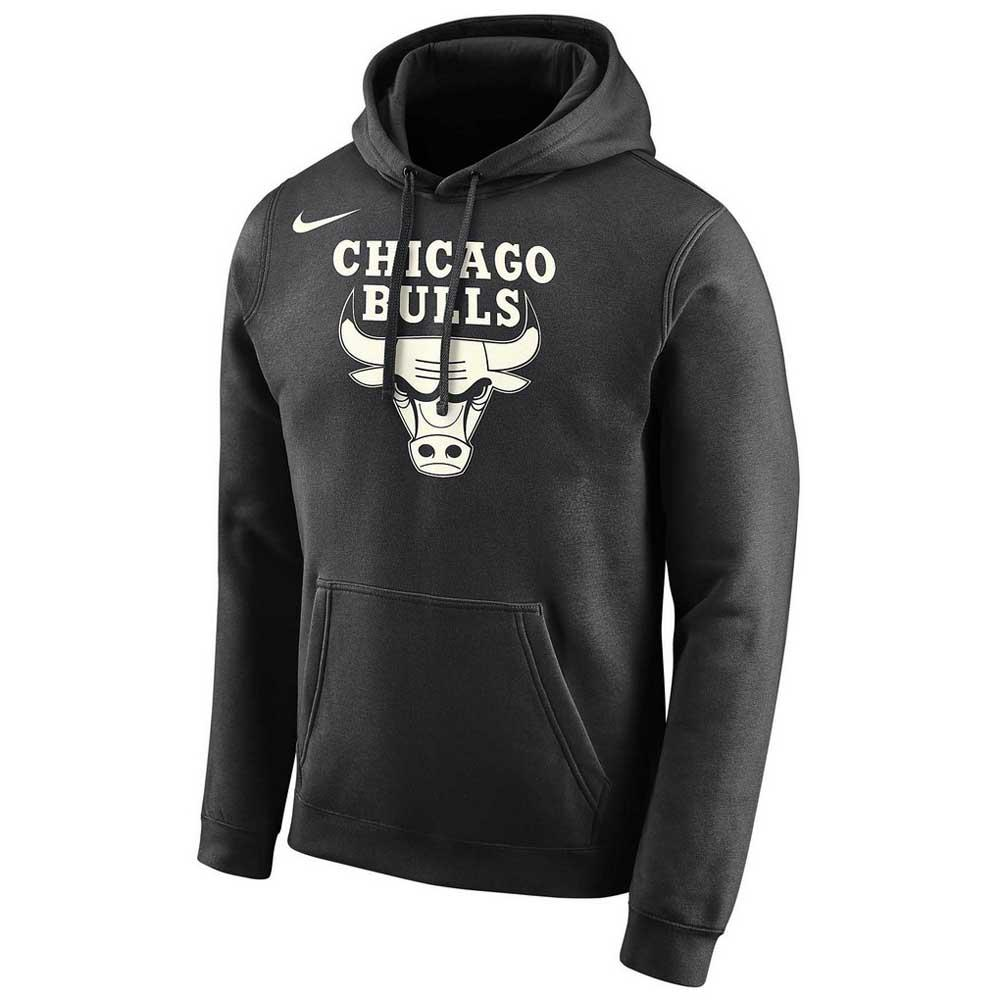 Nike Chicago Bulls Logo Essential Hooded Pullover