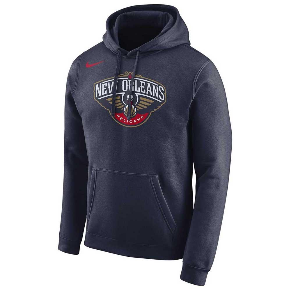 Nike New Orleans Pelicans Logo Essential Hooded Pullover
