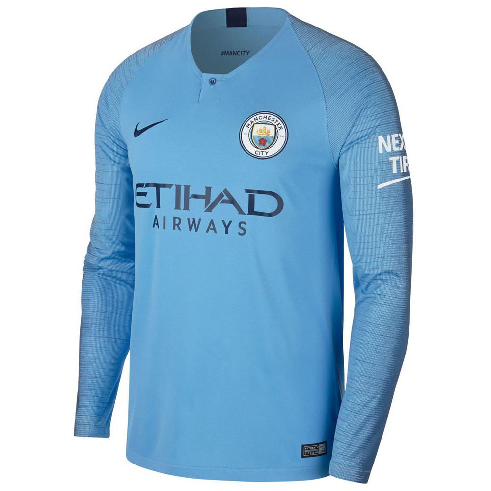 Nike Manchester City FC Home Breathe Stadium Jersey