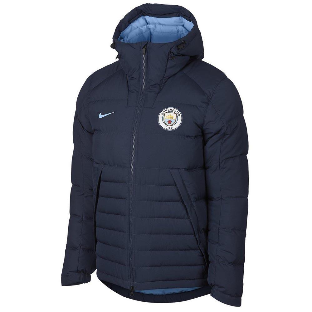 Nike Manchester City FC Dow Fill Crew Hooded Jacket , Goalinn