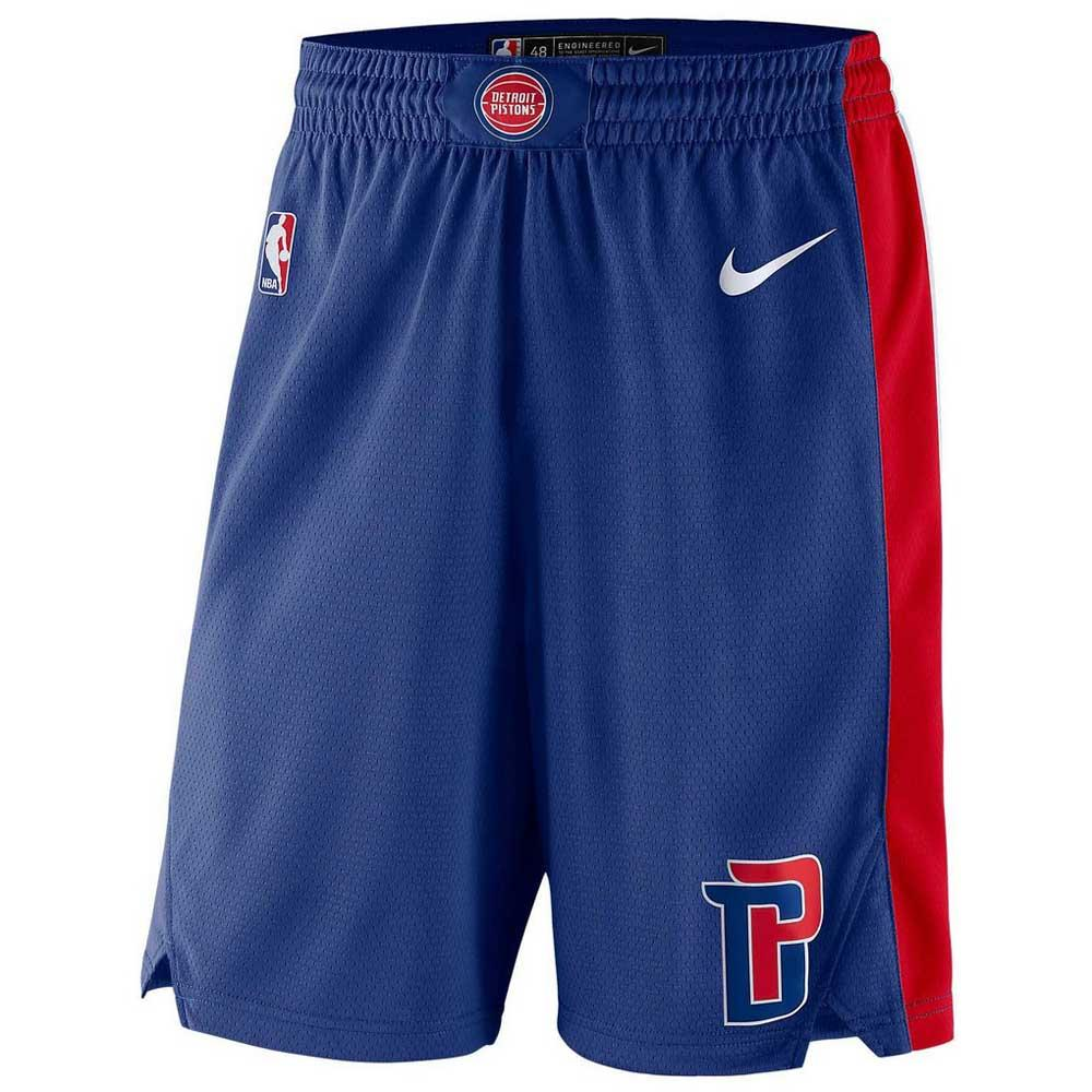 Nike Detroit Pistons Swingman Road Shorts