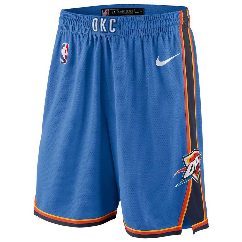 Nike Oklahoma City Thunder Swingman Road Shorts