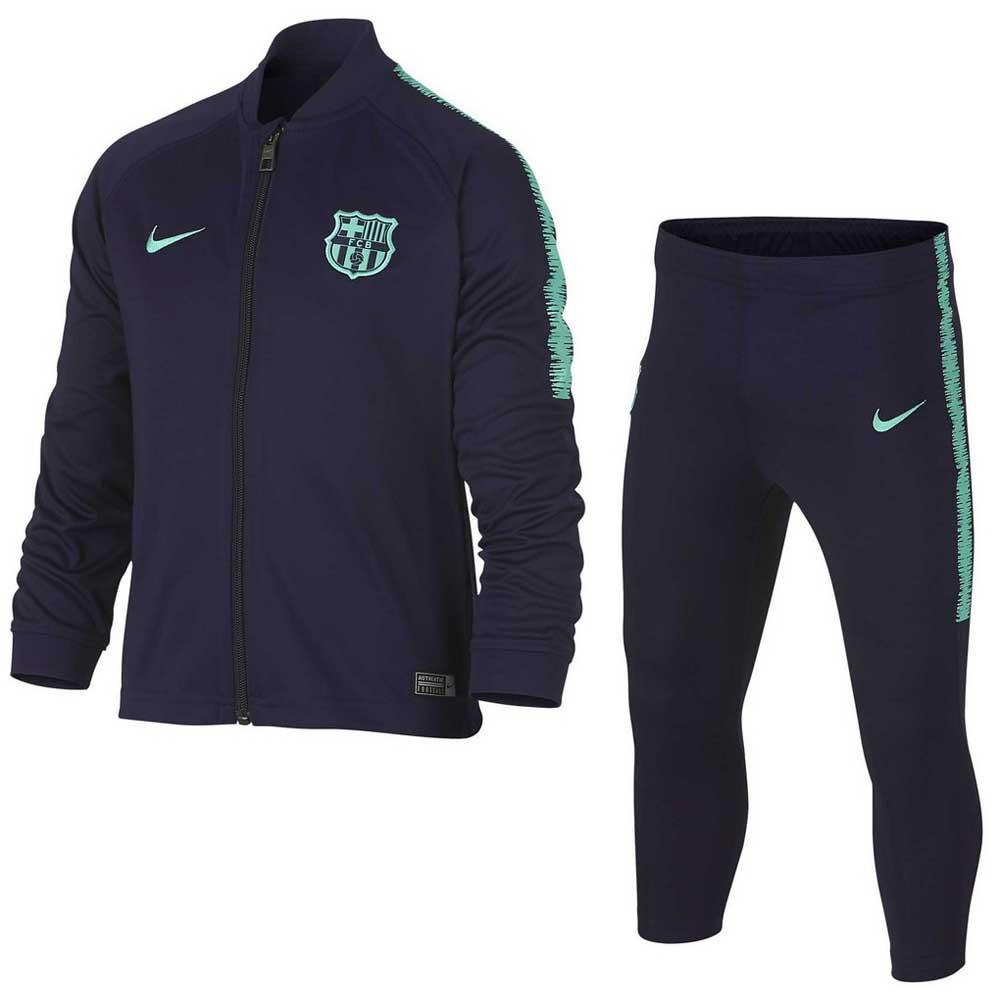 Nike FC Barcelona Dry Squad Tracksuit Junior