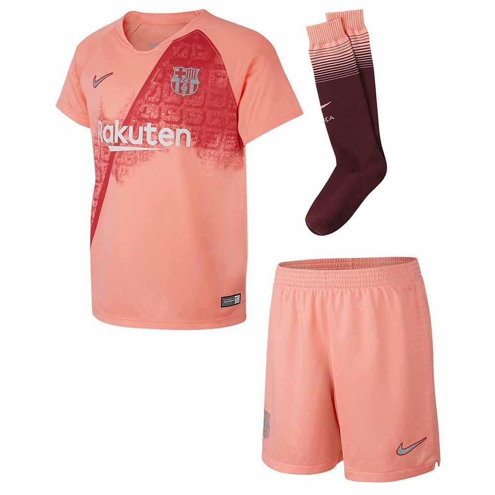 sports shoes c15b4 e57e6 Nike FC Barcelona 3rd Breathe Kit 18/19 Junior Pink, Goalinn
