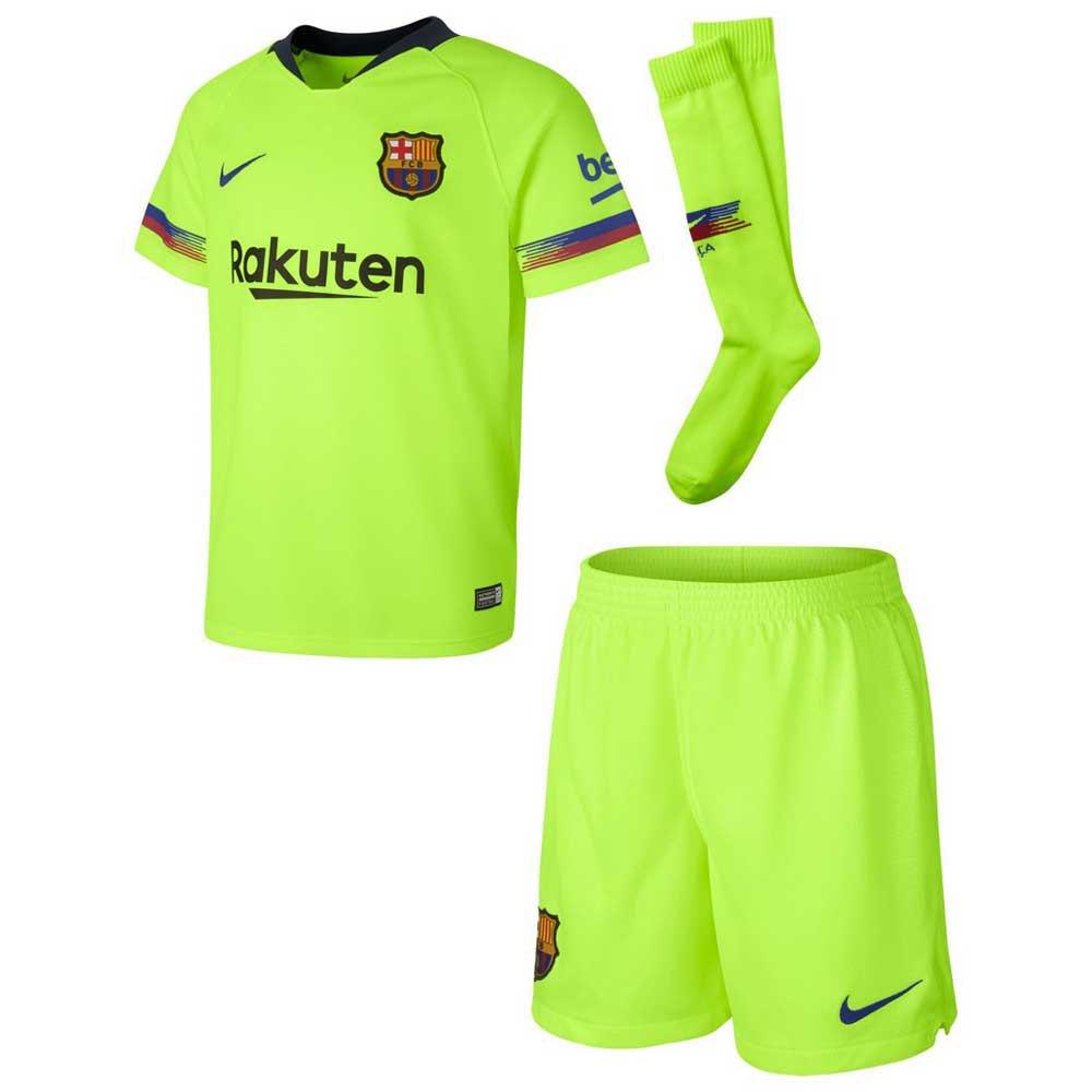 Nike Fc Barcelona Away Breathe Kit Little Kid Goalinn