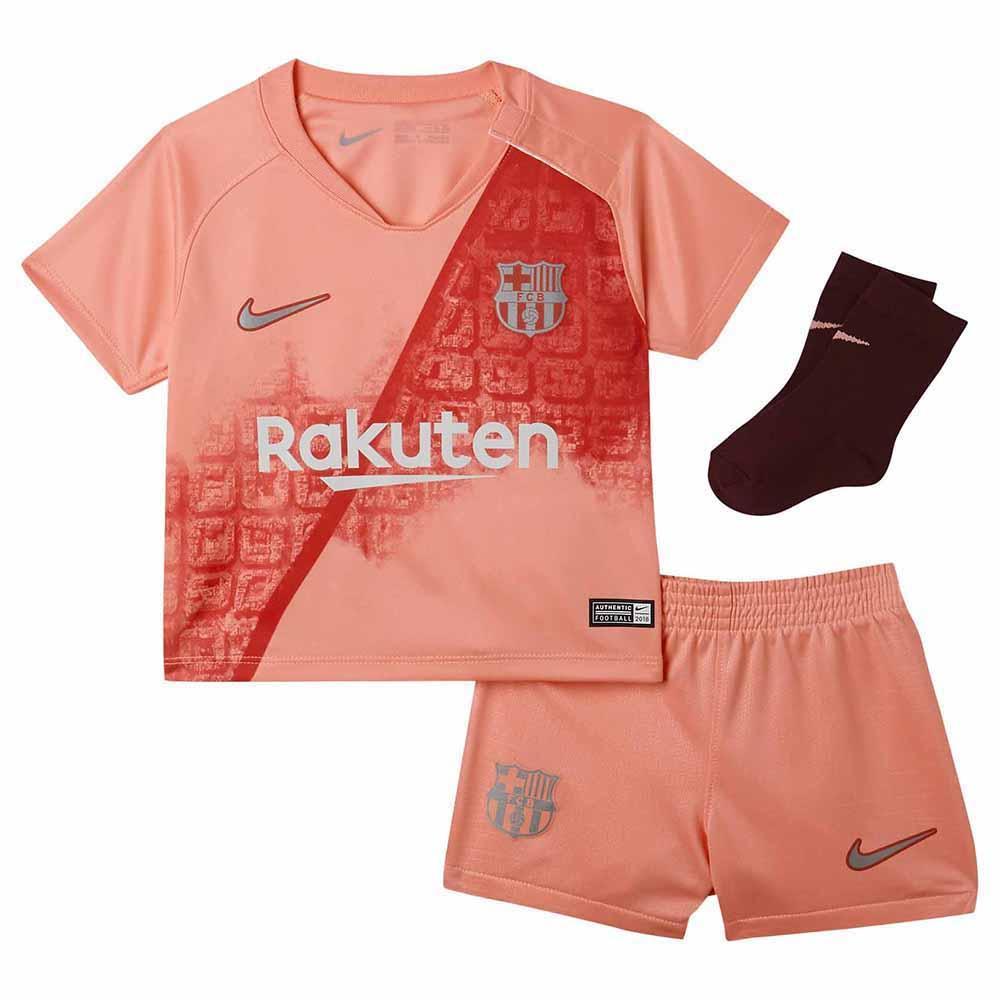 on sale a40ce 77b76 Nike FC Barcelona 3rd Breathe Kit 18/19 Infant Pink, Goalinn