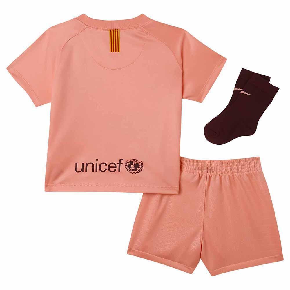 on sale dc190 8917e Nike FC Barcelona 3rd Breathe Kit 18/19 Infant Pink, Goalinn