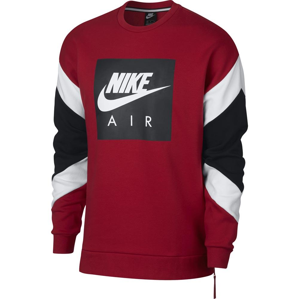 5e4aed546a Nike Air Crew Red buy and offers on Goalinn