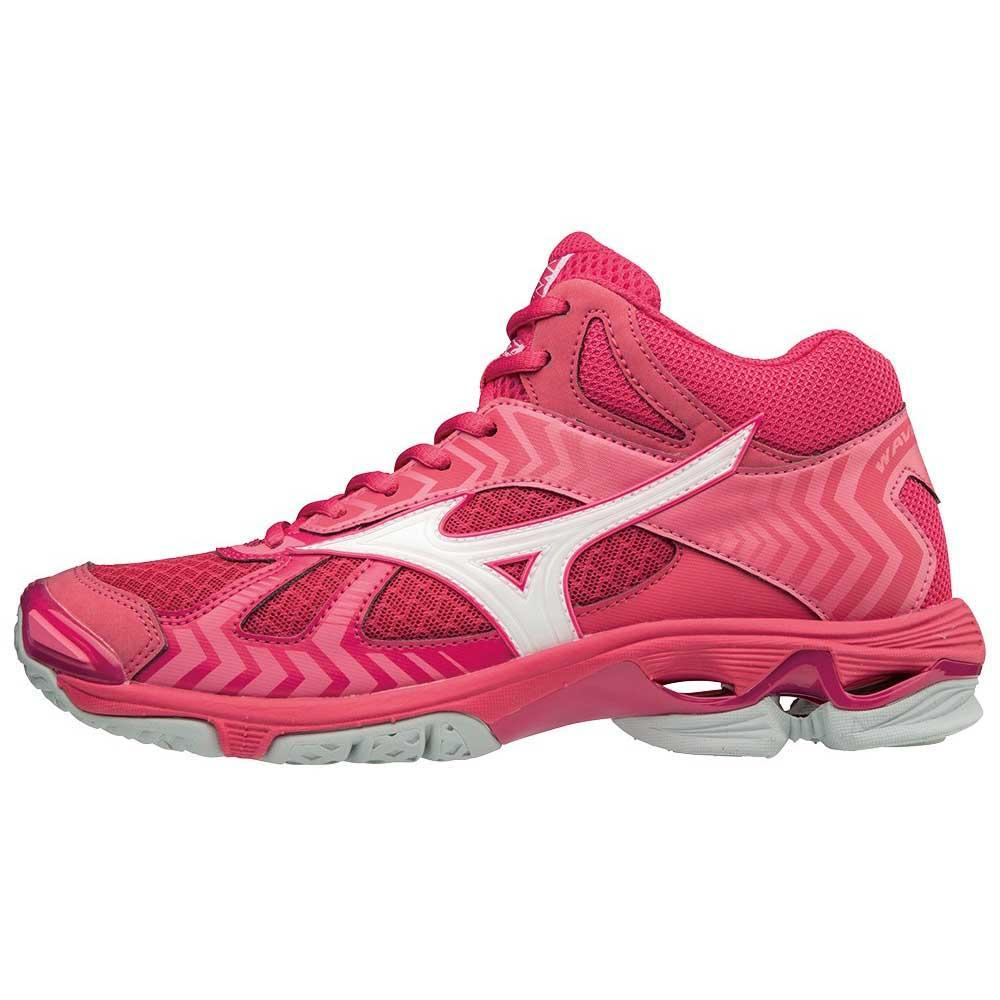 9c75147cc17 Mizuno Wave Bolt 7 Mid Pink buy and offers on Goalinn