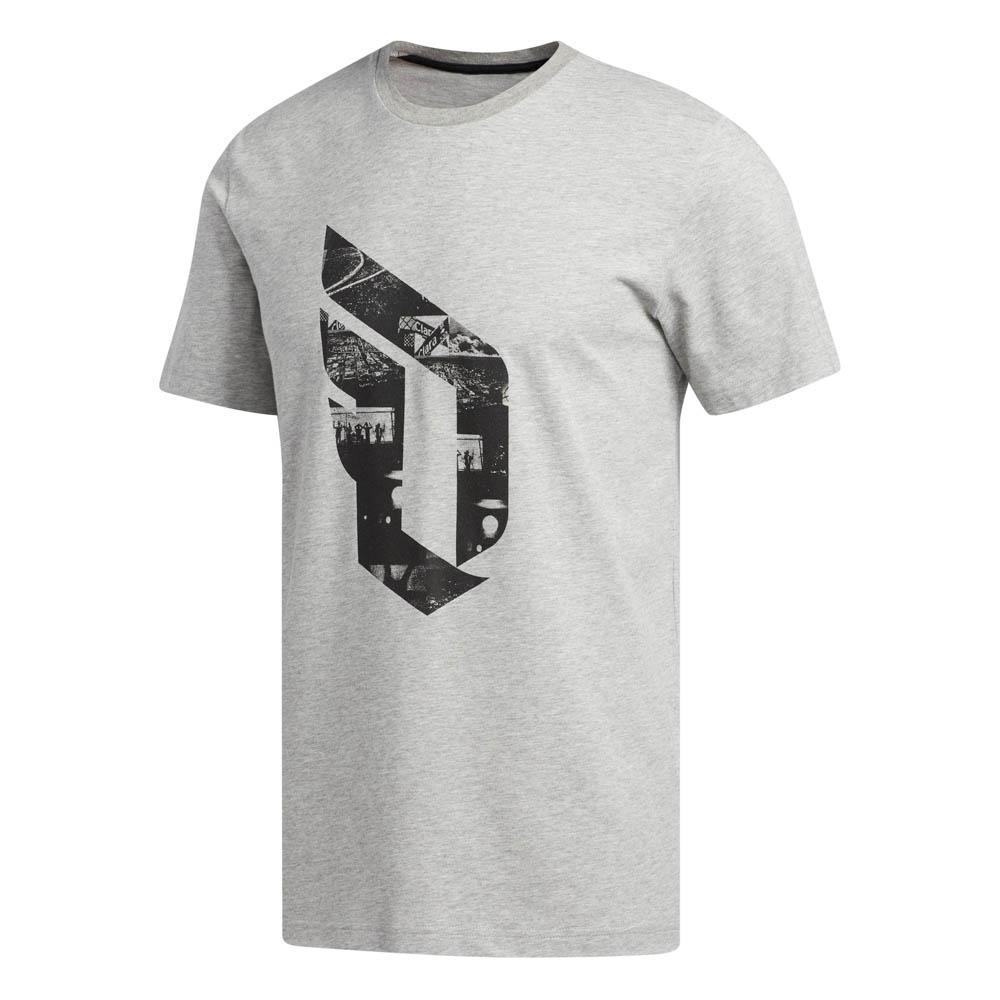 c0a5dc013d3 adidas Dame Logo Grey buy and offers on Goalinn
