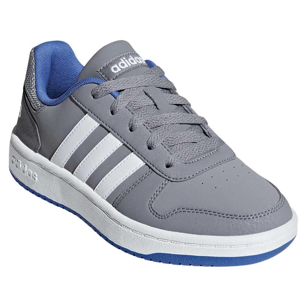 fa3871f7b133 adidas Hoops 2.0 K Grey buy and offers on Goalinn