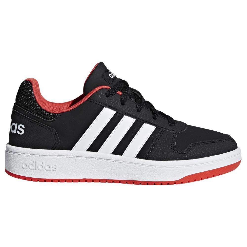 Artesano cristiandad Publicidad  adidas Hoops 2.0 K Black buy and offers on Goalinn