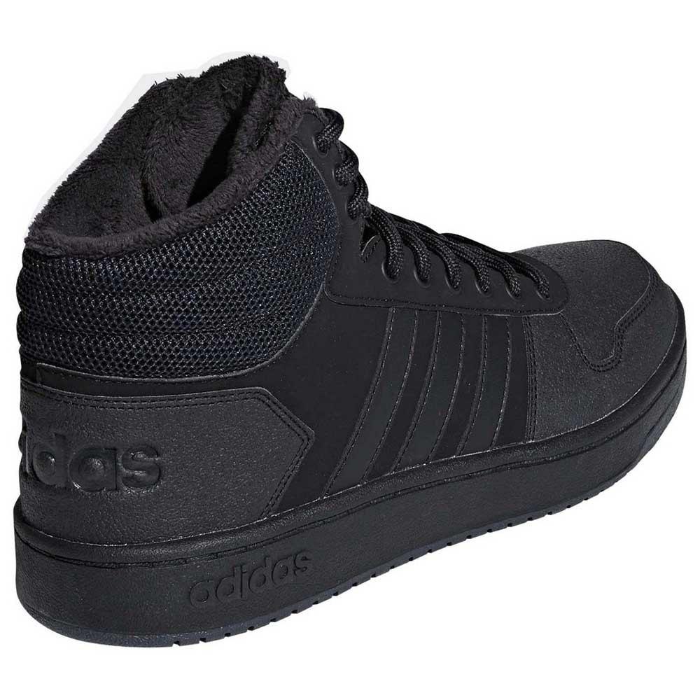 4bc949b165e8 adidas Hoops 2.0 Mid Black buy and offers on Goalinn