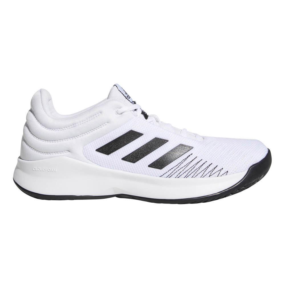 adidas Pro Spark Low Hvit kjøp og tilbud, Goalinn Joggesko