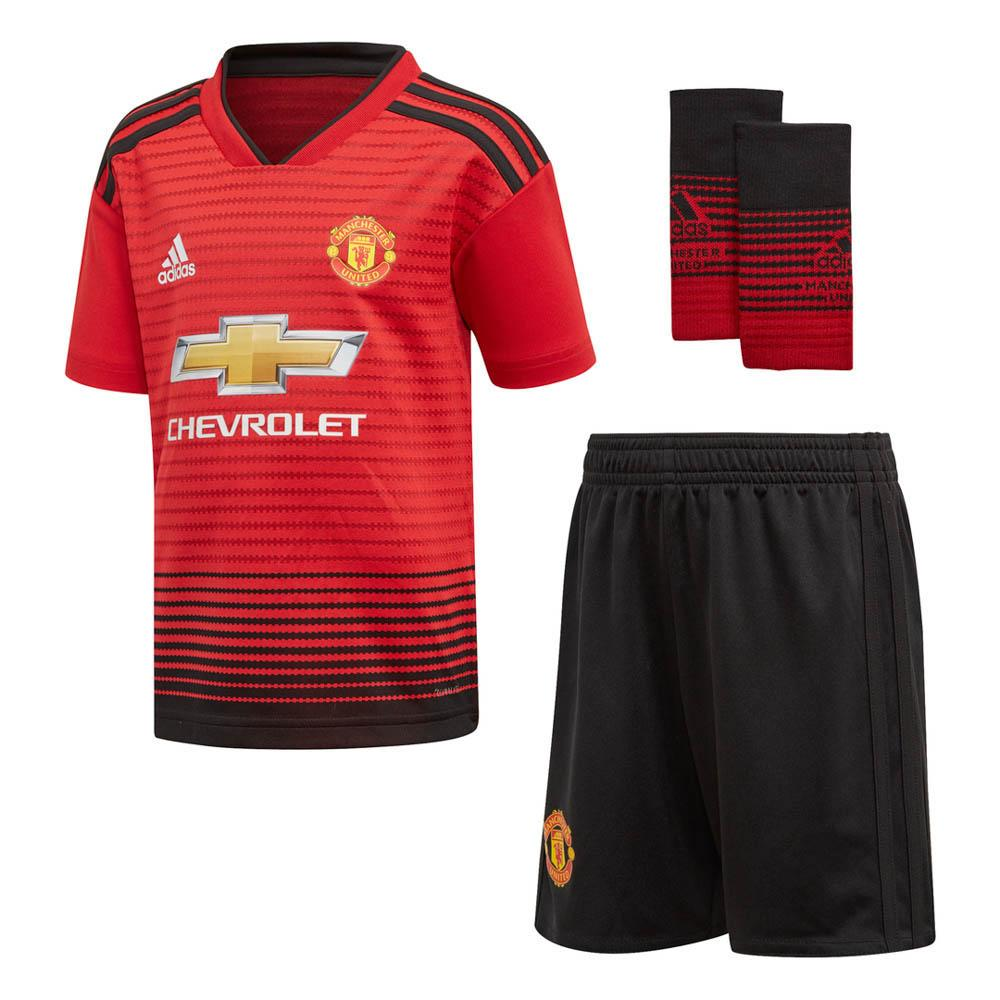 reputable site d76f4 06d34 adidas Manchester United FC Home Kit 18/19 Junior