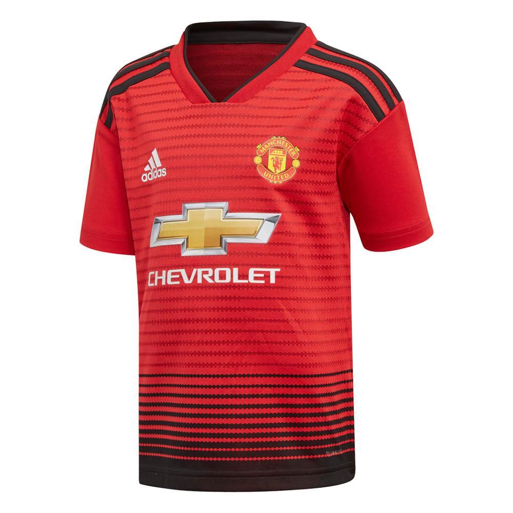 Manchester United Fc Home Kit 18/19 Junior